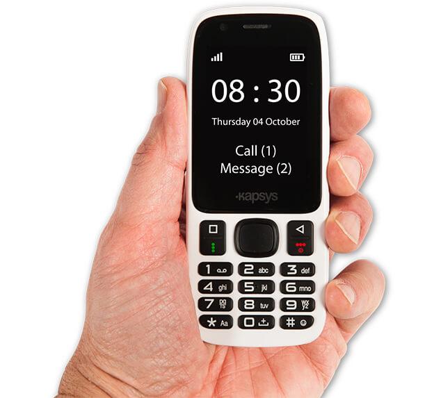 MiniVision magyarul beszélő mobiltelefon